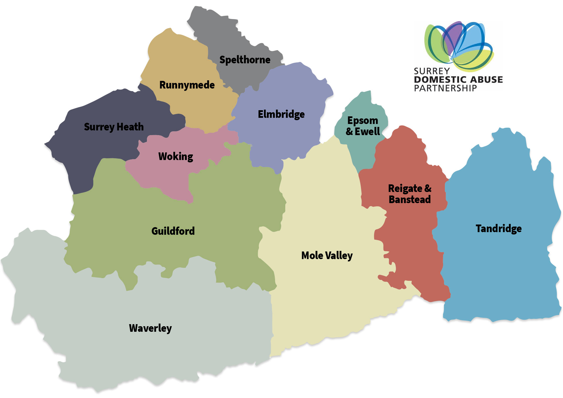 Surrey-Domestic-Abuse-Partnership-SDAP-Map
